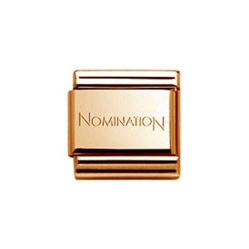Maillon Nomination classic cuivre
