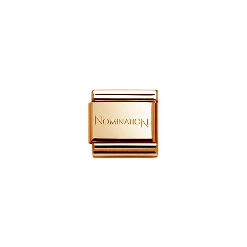 Maillon Nomination classic cuivre - 002645